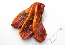 """James Brothers Secret Rub"" Pork Belly/ Pork Spare ribs (Price per Slice)"