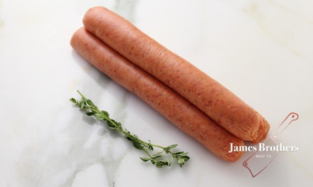 House Made Butchers Barbecue Beef Sausage (Price per 250g, Approx 12 per Kg)