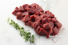 Free Range Grass Fed Diced Beef (price per 250g)