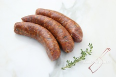 House Made Traditional Spanish Chorizo (Price per 250g, Approx 8 per Kg)